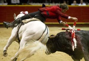 COLOMBIA-BULLFIGHTING-SPAIN-MENDOZA