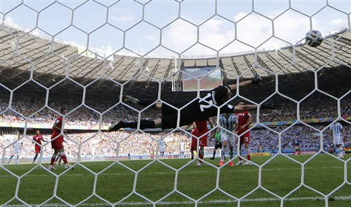 Brazil Soccer 2014 WCup Argentina Iran